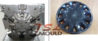 Injection Plastic Car Wheel Cover Mould