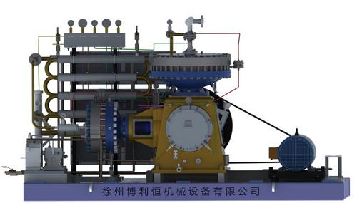 Diaphragm Type N-Pentane 10nm3/H Flow Rate Gas Compressor in