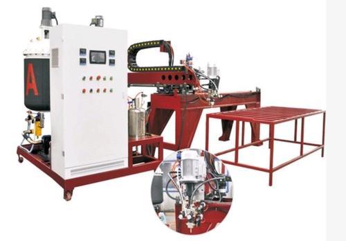 Pu Air Filter Machine / Cabinet Door Sealing Strip Casting Machines