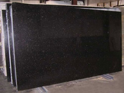 High Finish Black Galaxy Granite