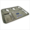 Stainless Steel Bhojan Thali Five In One Plate