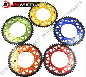 40T-50T Ultralight Off Road Motorcycle Colored Rear Sprockets