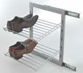 Side Mounting Shoe Rack
