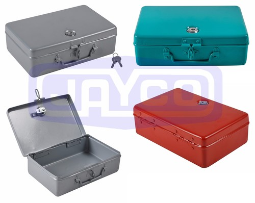 Aluminum Cash Box With Lock