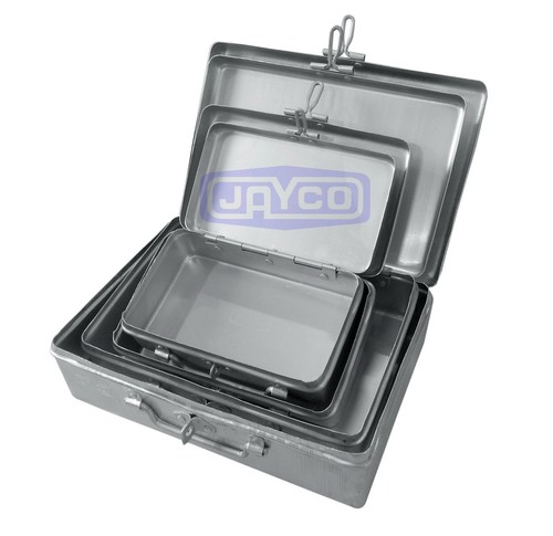 Rectangle Hinged Tin Box