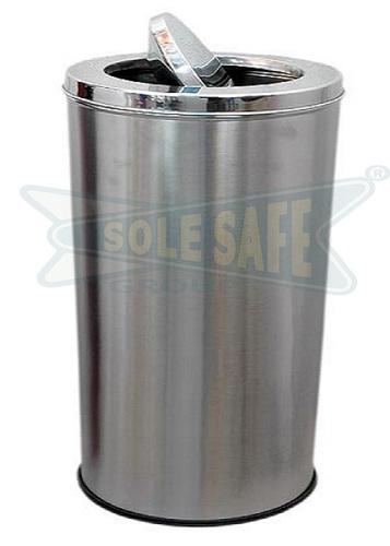 Stainless Steel Swing Dustbin