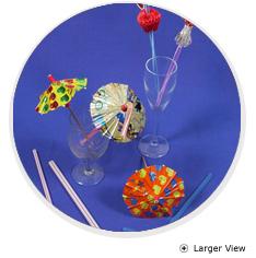 Stirrer Sticks And Umbrella Straws