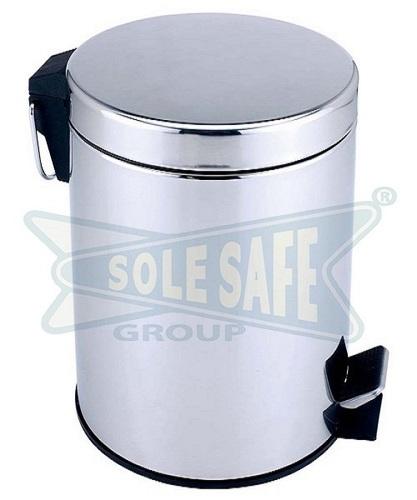 Stainless Steel Metal Pedal Bin