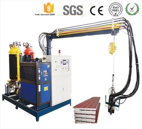 High Pressure Pu Foaming Polyurethane Injection Machine For Flip Flops