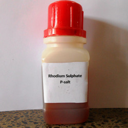 Red Rhodium Sulphate