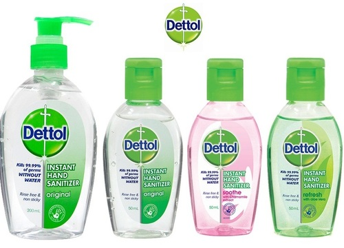 Medicated Hand Sanitizer (Dettol) Age Group: Women