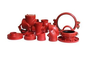 Reliable Grooved Pipe Fitting