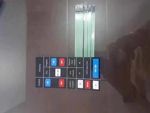 Durable Flexible Membrane Keypad