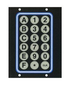 Vending Machine Membrane Keypad