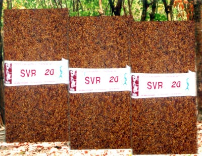 High Quality Natural Rubber (Svr 20)