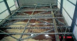 Industrial Ice Rake System