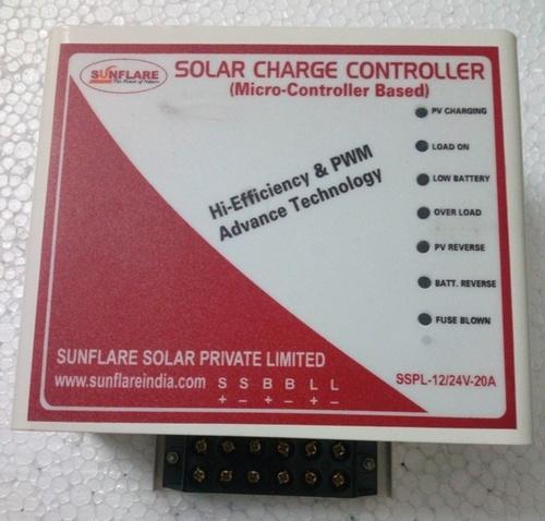 Solar Charge Controller (12V/24V-20A)
