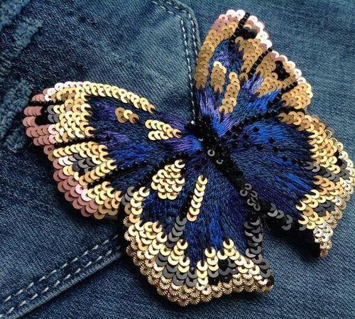 Denim Fabric With Customized Work