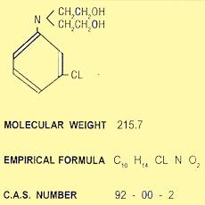 N,N - DI - [2 HYDROXYETHYL] - m - CHLORO ANILINE (MD-1)