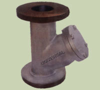 Ci Strainer Flanged End