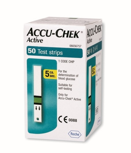 Accucheck Active Strips 50'S Pack