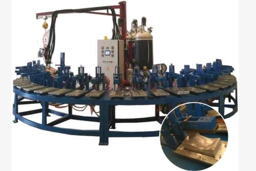 Automatic Polyurethane Pu Pouring Shoe Sole Making Production Line