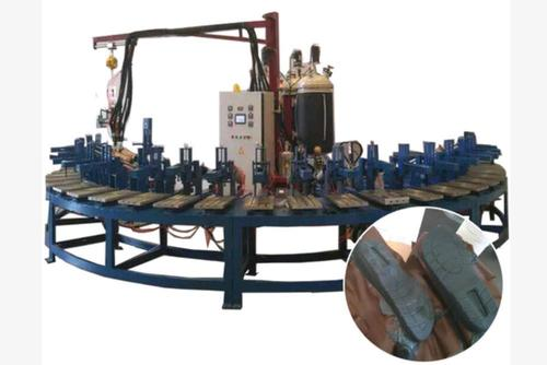 Polyurethane Pu Shoe Sole Injection Molding Making Machine