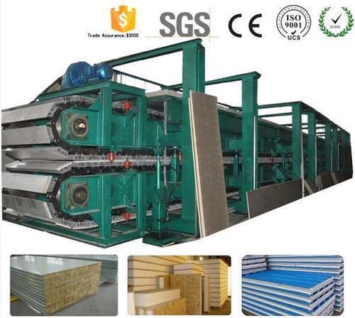 Polyurethane Foam Sandwich Panel Machine Used For Pu Sandwich Panels