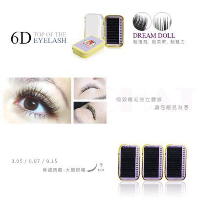 C&CHAT Dream Doll Professional Eyelash Extensions MIXED