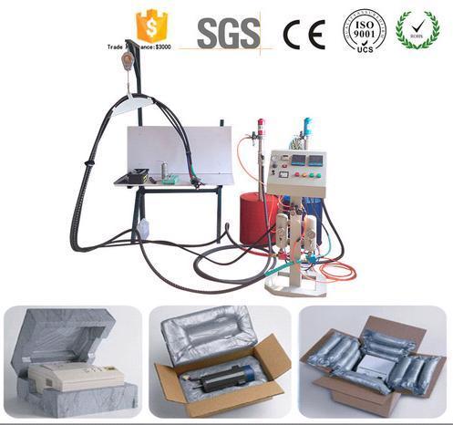 Pneumatic Foam-In-Place Pu Foam Packing And Filling Machine