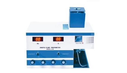 Single Channel Digital Flame Photometer