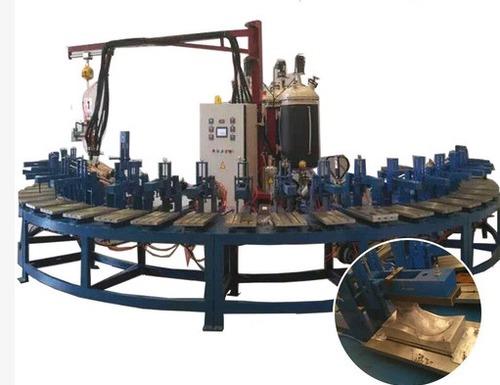 Pu Shoe Sole Injection Mold Machine