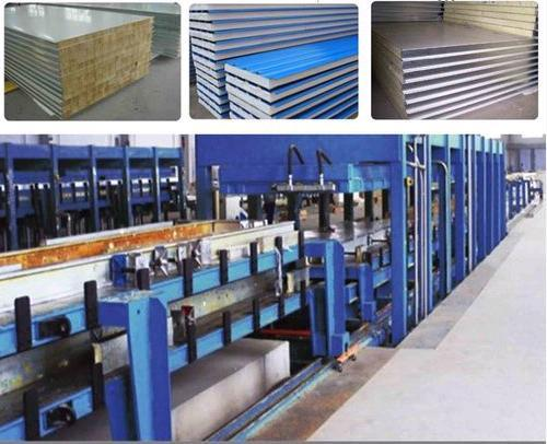 Discontinuous Polyurethane Pu Used Cold Room Panel Production Line