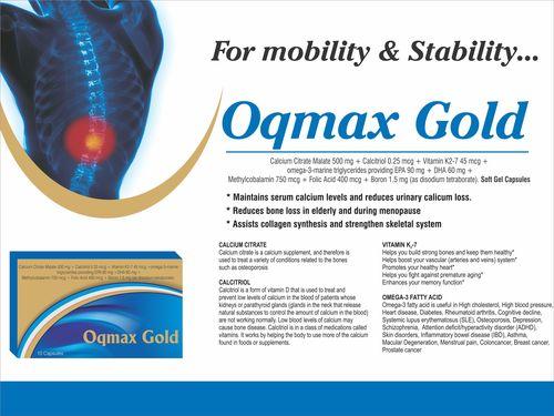 OQMAX (CALCIUM CITRATE 1000 MG,ZINC 15 MG,MAGNESIUM 50 MG,VIT.D3 1000 IU,VIT.K2-7 50 MCG)
