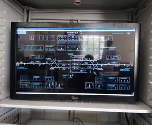 Open Frame Industrial Monitor