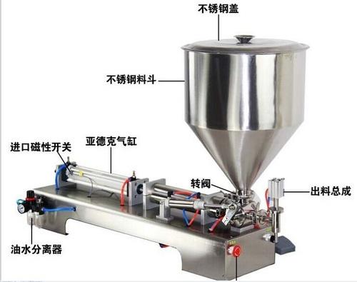 Prism Tube Filling Sealing Machine