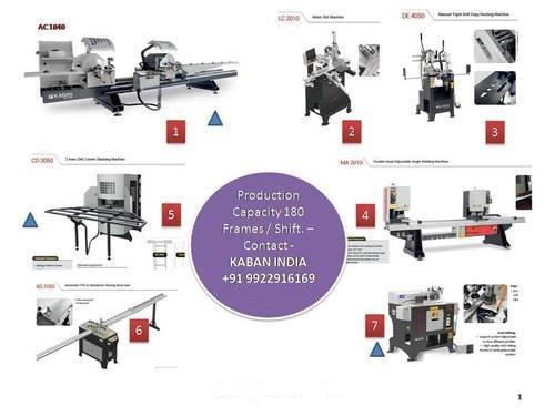 UPVC Fabrication Machines in  Indryani Nagar