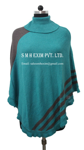 Pashmina Knitted Poncho Shawls