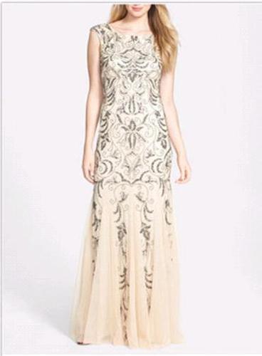 Designer Ladies Sequin Beaded Dresses