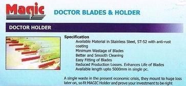 Doctor Blade Holder