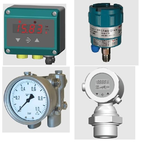 Fischer Absolute Pressure Gauge Da55 With 2.8a   Touch Lcd Ea15