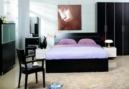 Bedroom Double Bed (Ic-Bf-002) in  New Area