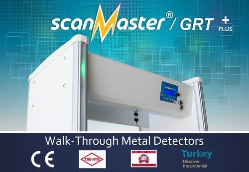 Walk Through Metal Detector (Scanmaster /GRT +Plus)