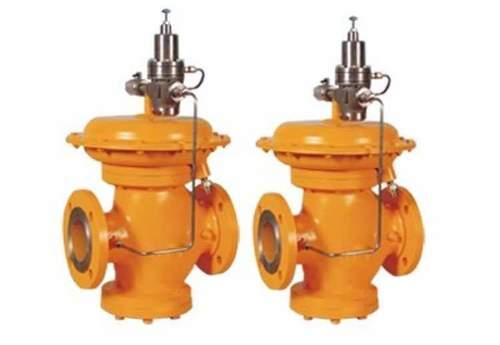Pilot Operated Pressure Reducing Valve For Gas And Air Dp