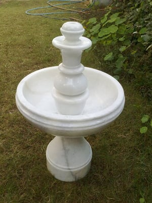 White Color Marble Fountain
