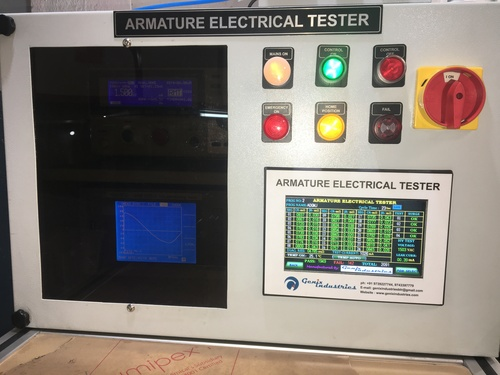 Armature Electrical Tester