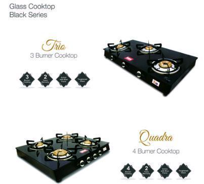 LPG Glass Cooktop