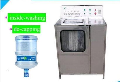 5 Gallon Bucket Decapper 20L Bottle Washing And Decapping Machine