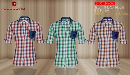 Mens Trendy Casual Shirt D-6060