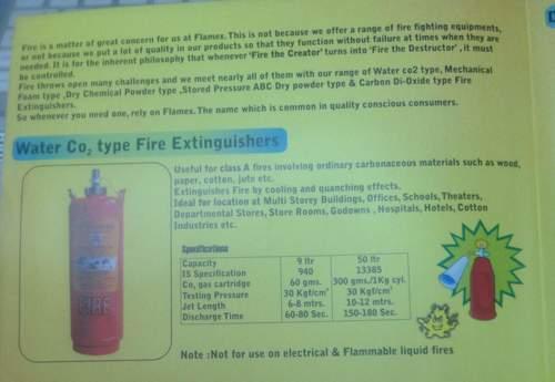 CO2 Fire Extinguisher in  Sajan Nagar